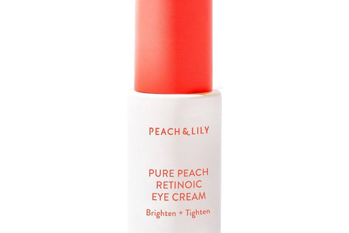 peach and lily pure peach retinoic eye cream