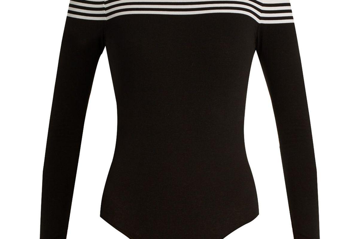 Compression Cotton-Blend Performance Bodysuit