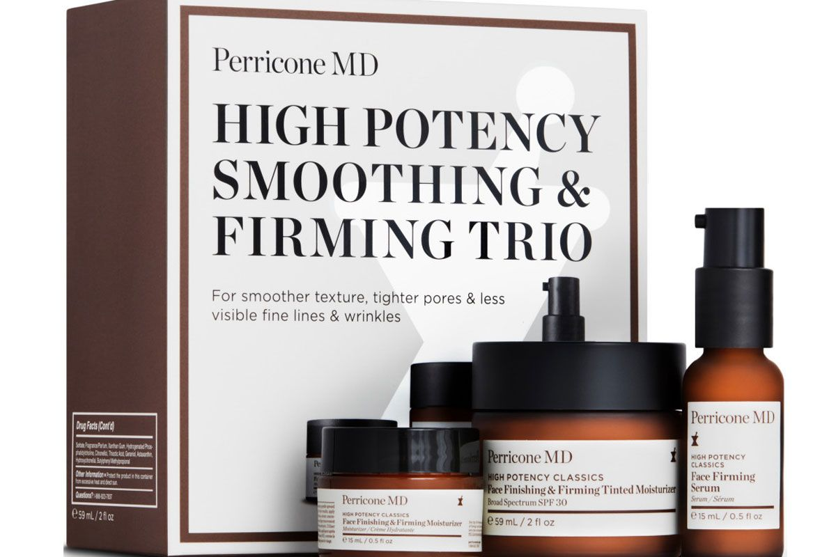 perricone md high potency smoothing and firming trio