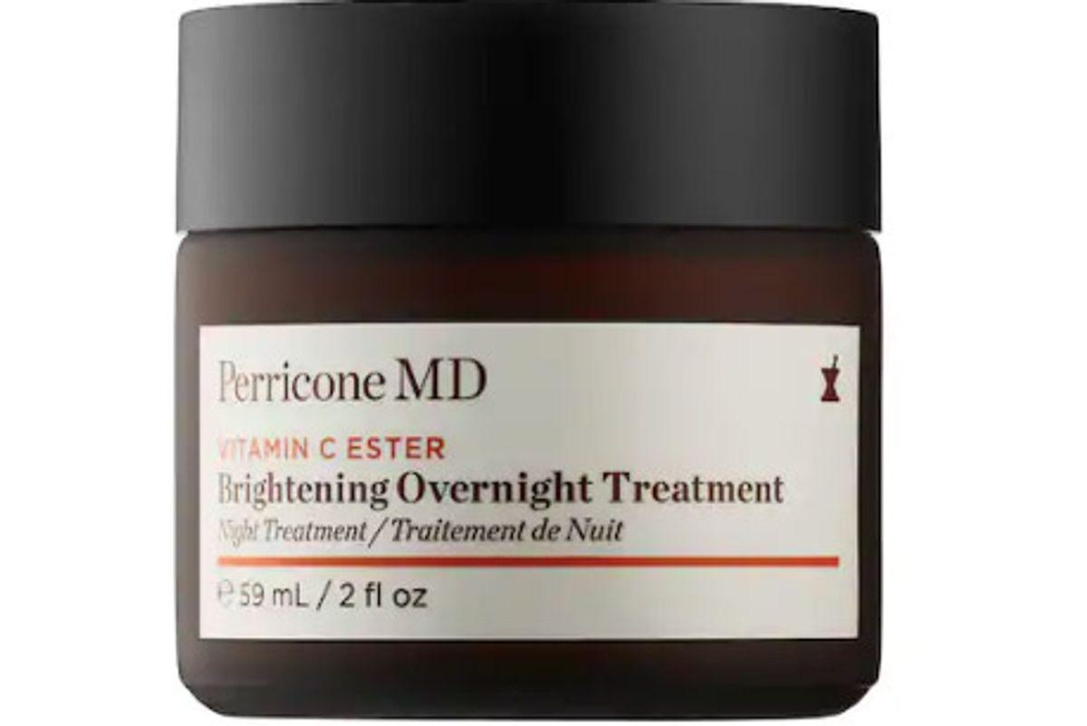 perricone md vitamin c ester brightening overnight treatment