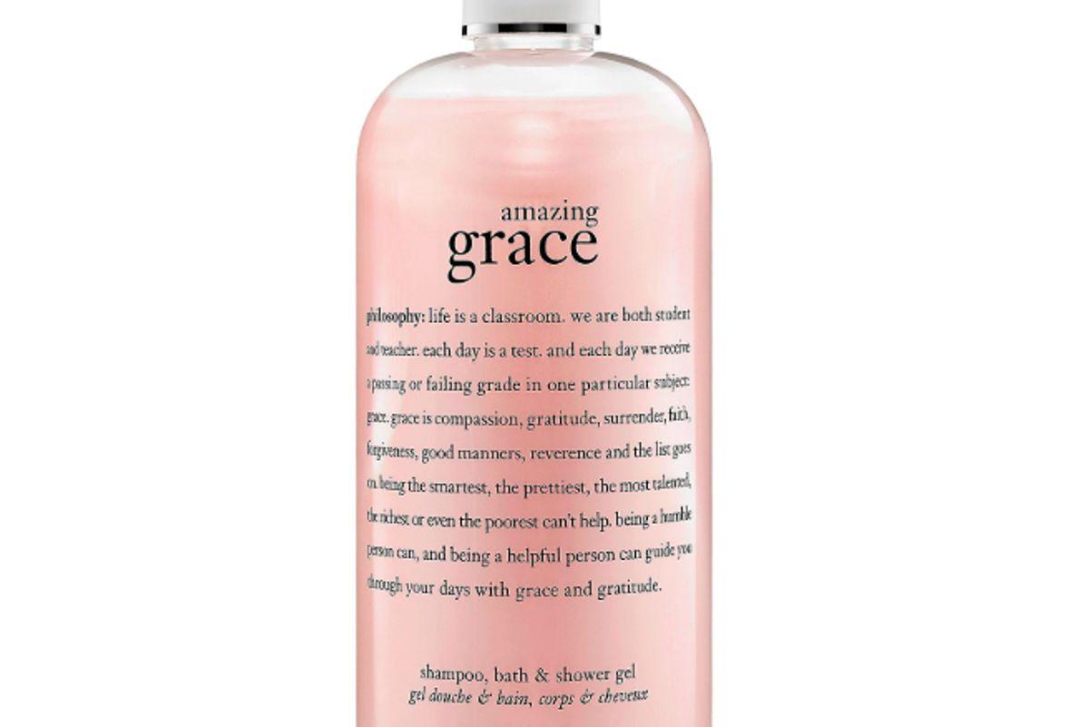 amazing grace bath shampoo shower gel