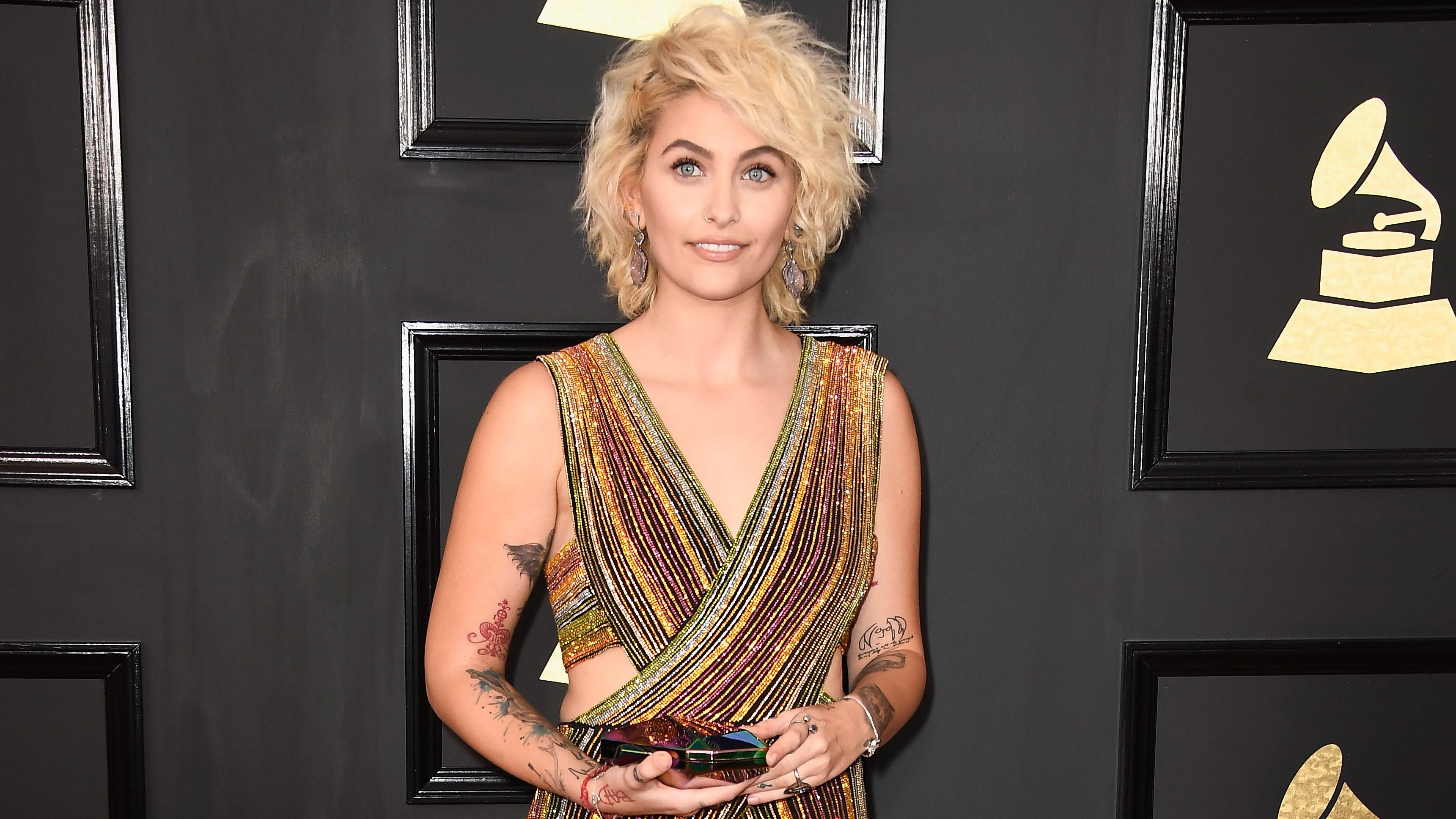 Let's All Just Take a Minute to Obsess Over Paris Jackson at the Grammys