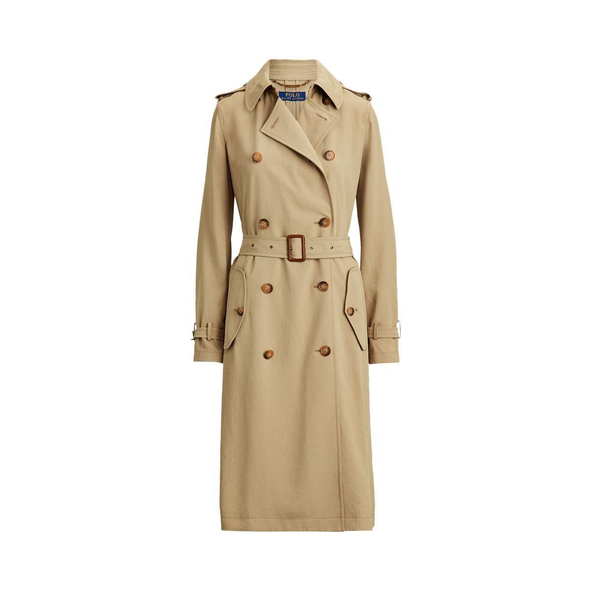 polo ralph lauren twill trench coat