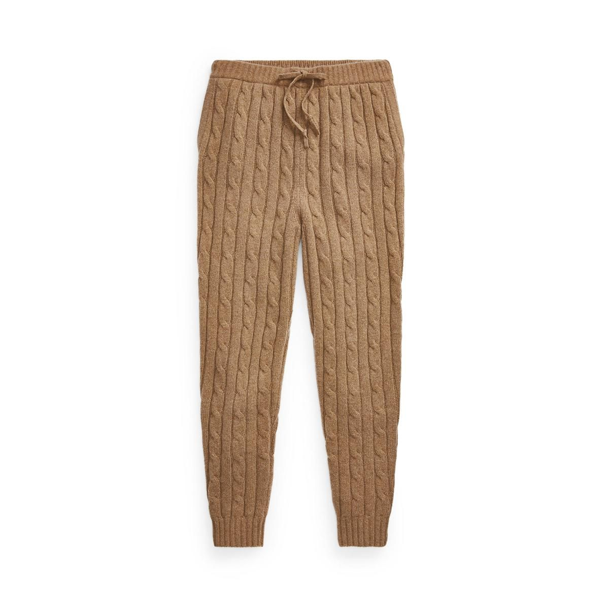 polo ralph lauren wool cashmere cable knit joggers