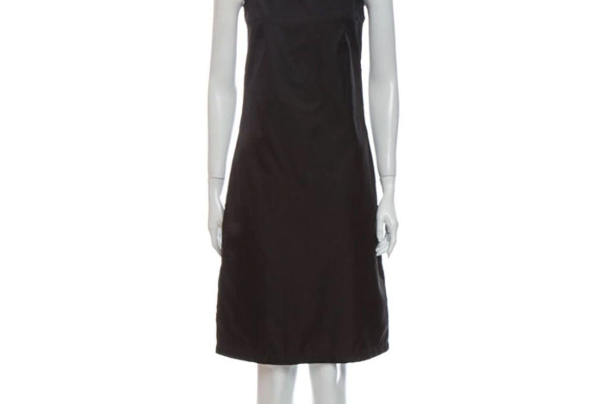 prada 2018 knee length dress