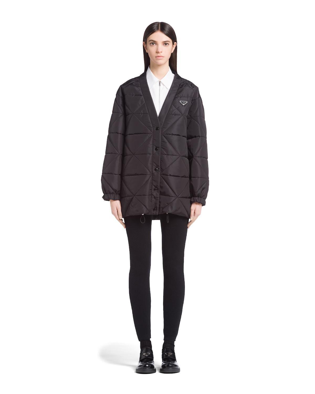 prada quilted re nylon jacket
