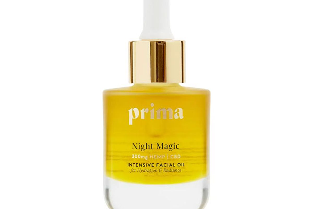 prima night magic facial oil