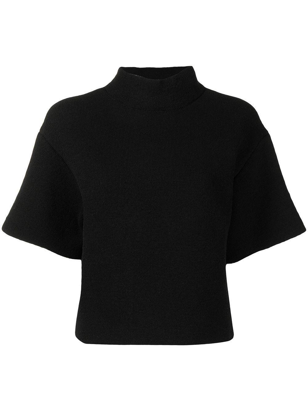 proenza schouler mock neck knitted top