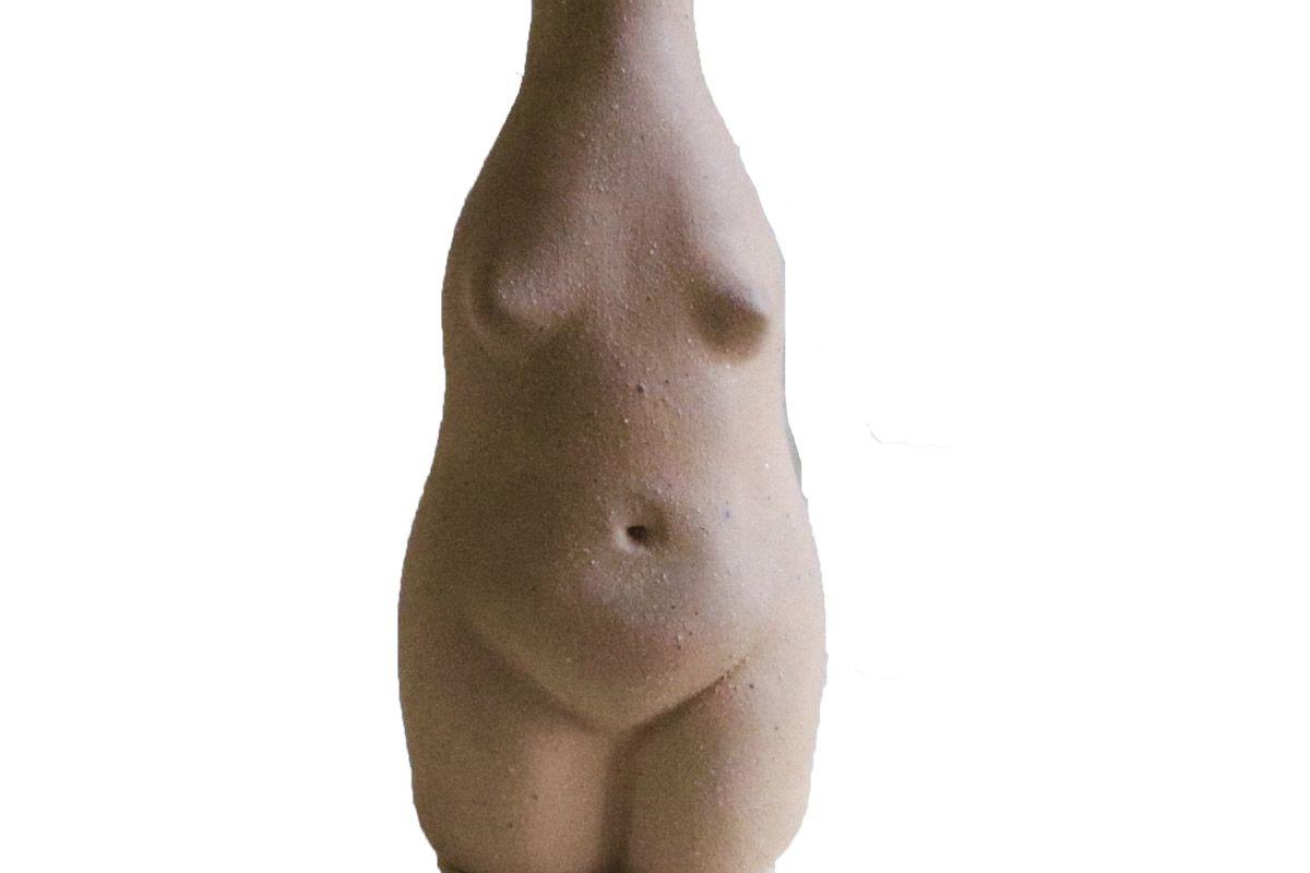 rachel saunder ceramics woman vase terra