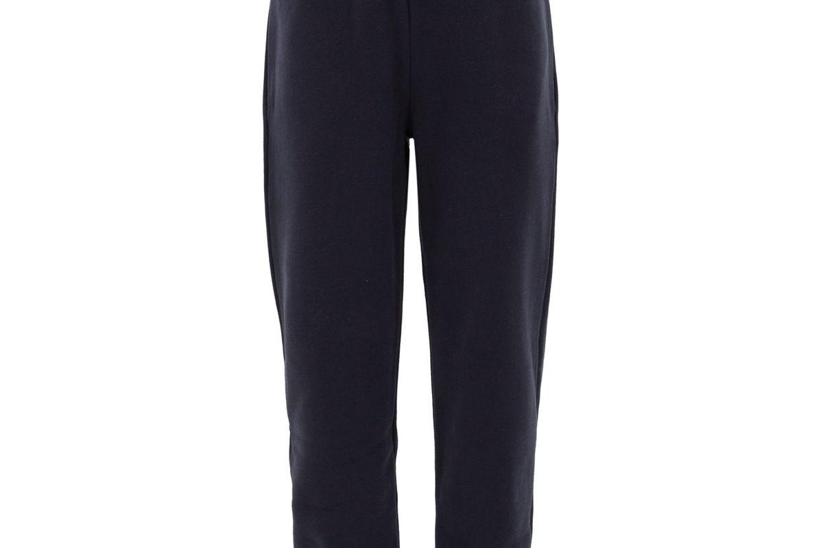 raey elasticated waist cotton blend track pants