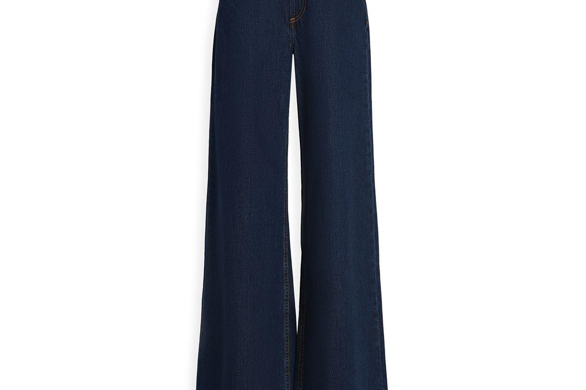 rag and bone jeans ruth super high rise ultra wide leg jeans