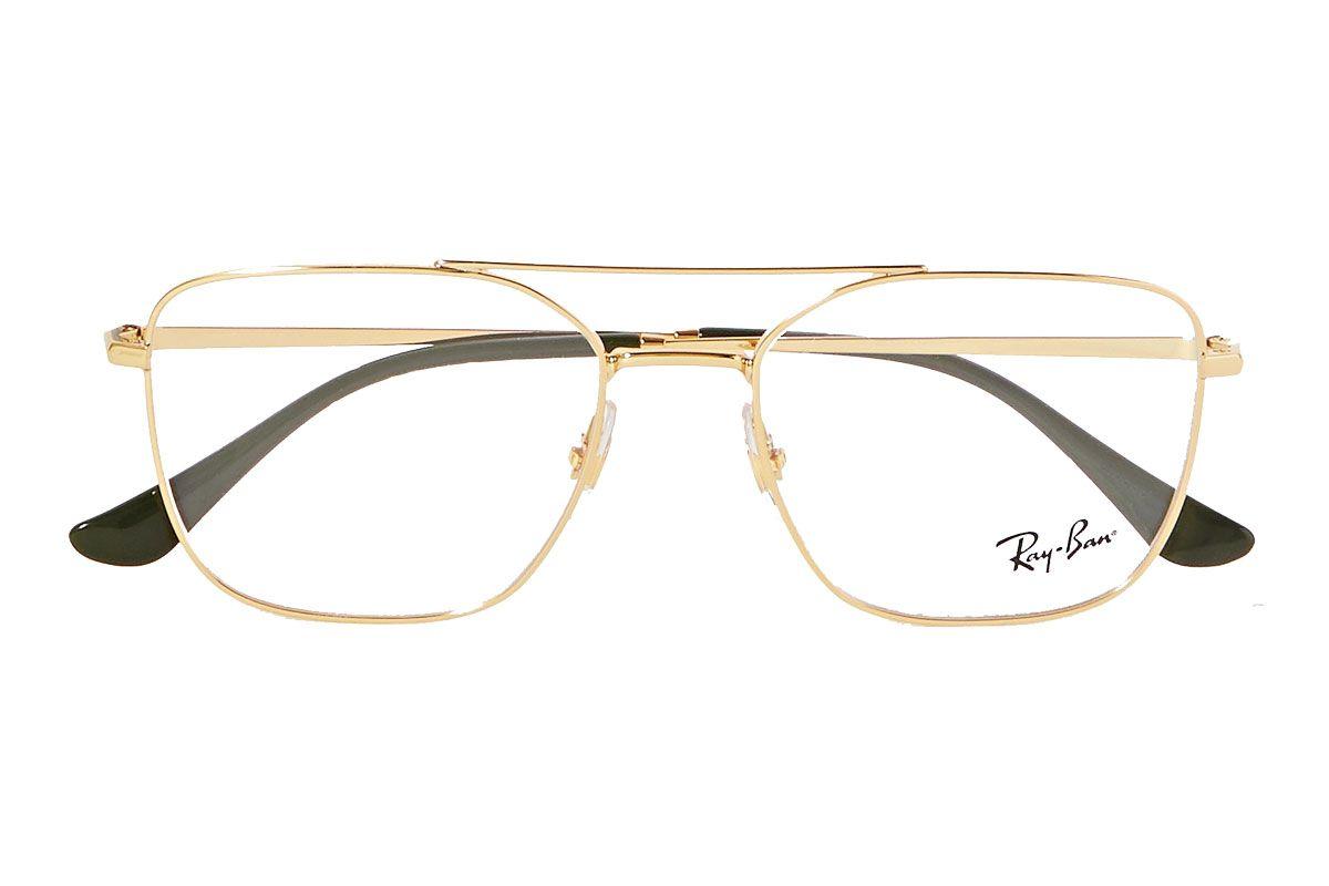 ray ban aviator gold tone optical glasses