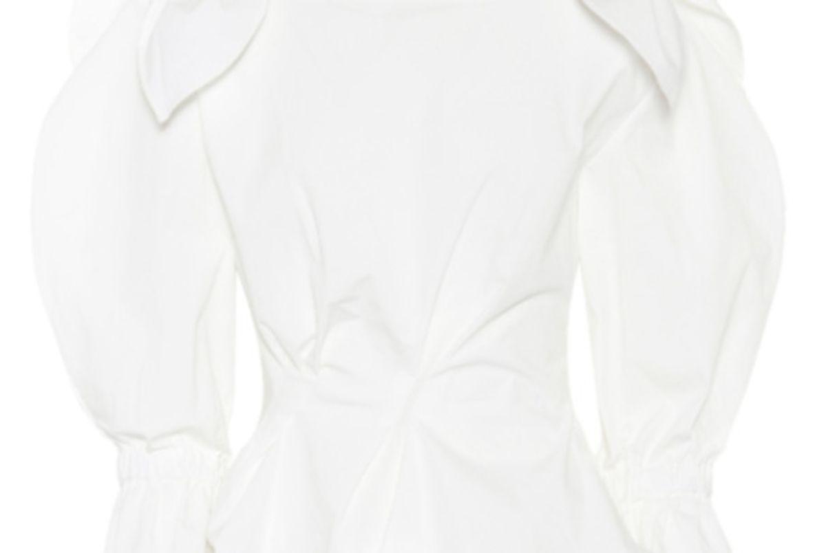 rejina pyo michelle cotton blend top
