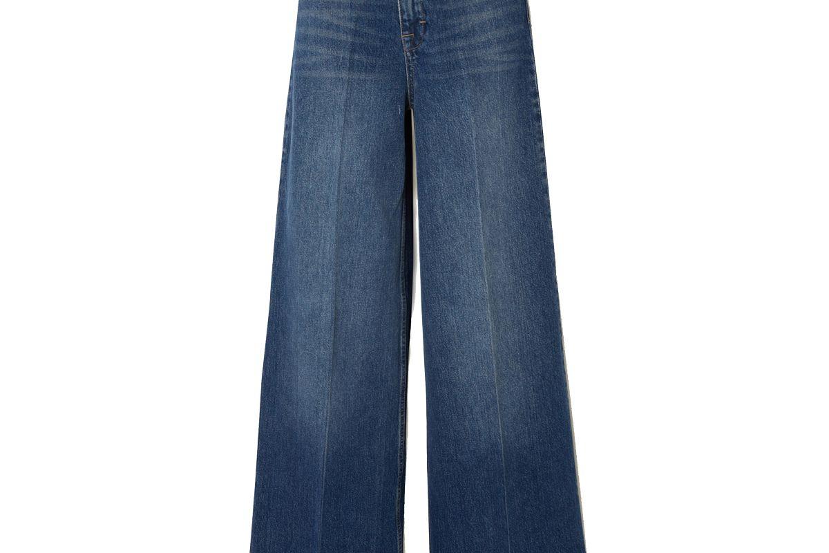 remain birger christensen bernadette high rise wide leg jeans