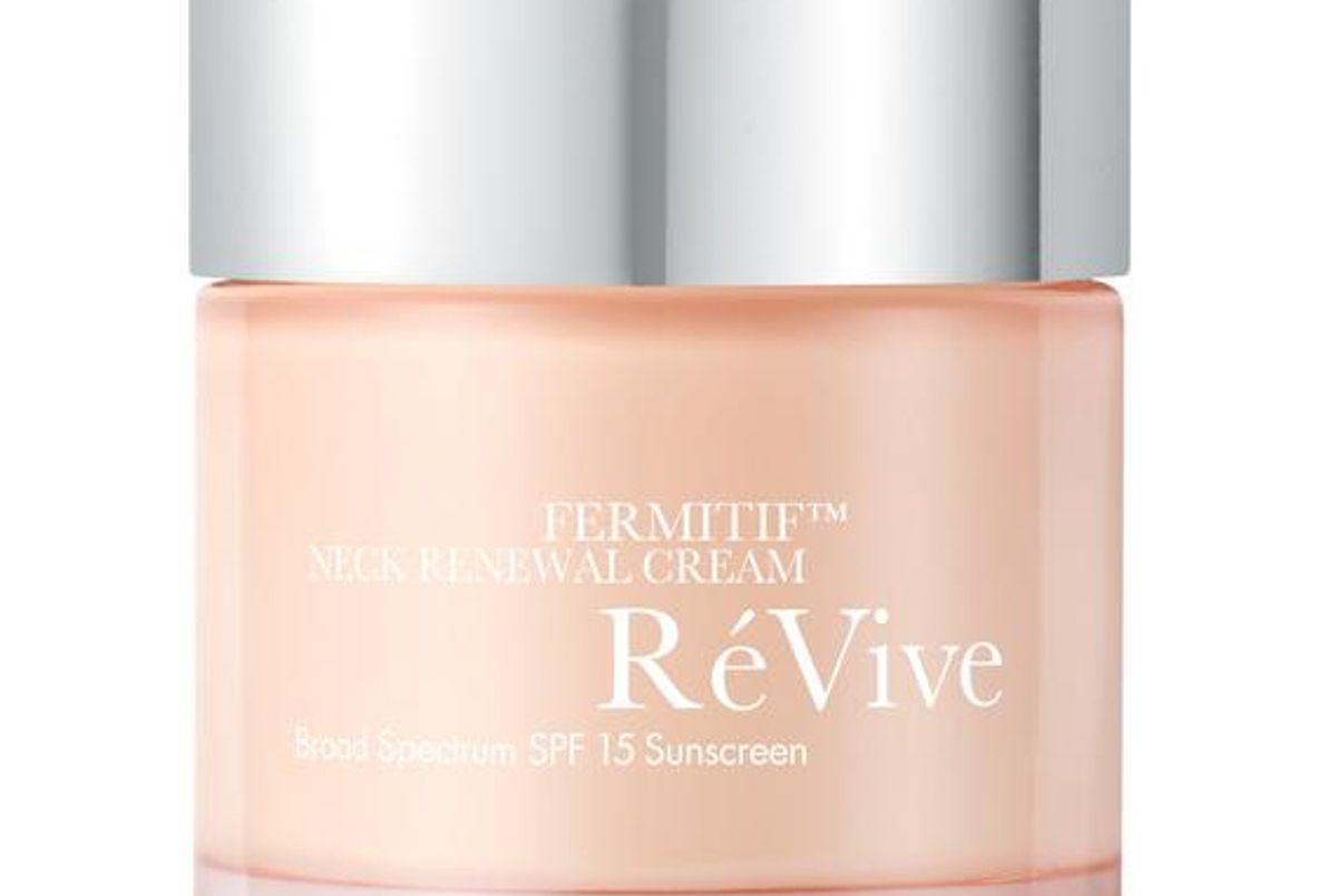 revive fermitif neck renewal cream broad spectrum spf 15