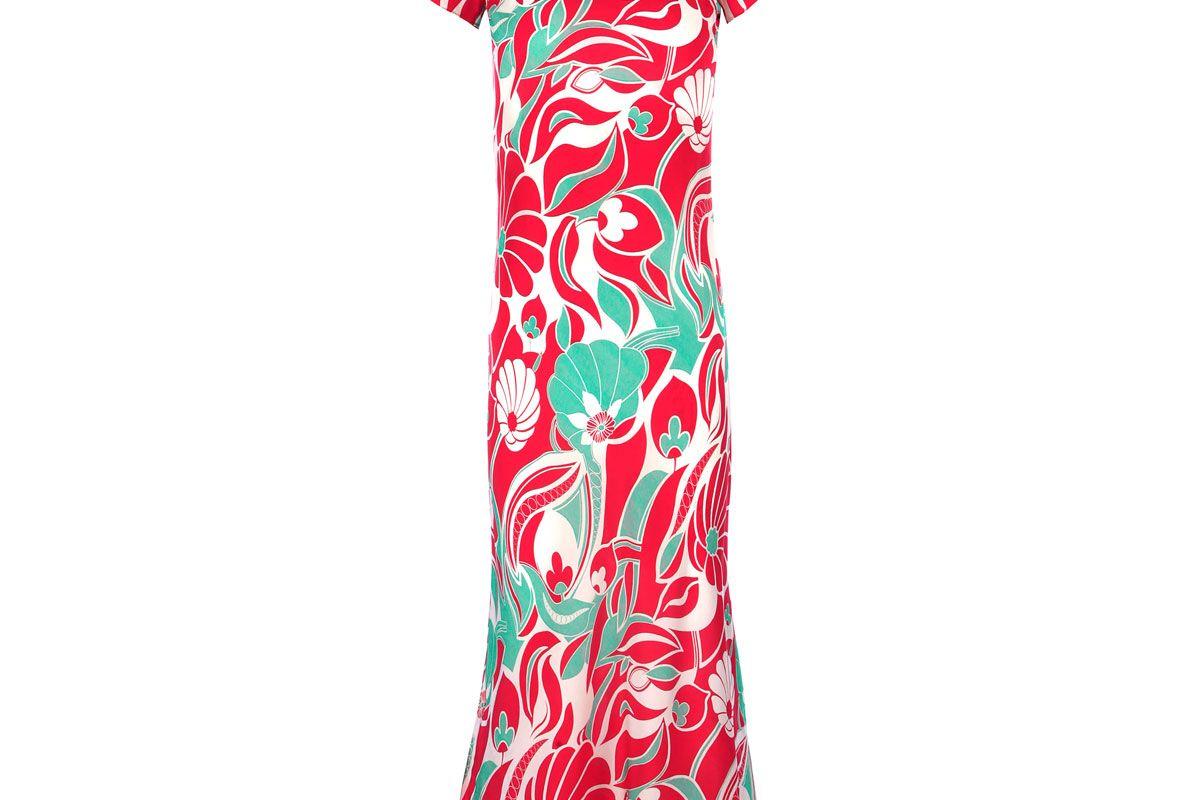 Bianca Abstract Oriental Dress