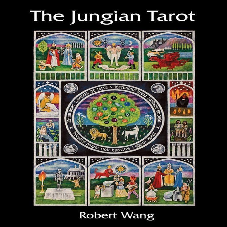robert wang the jungian tarot deck