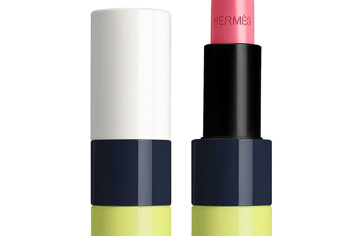 rouge hermes satin lipstick limited edition rose pommette
