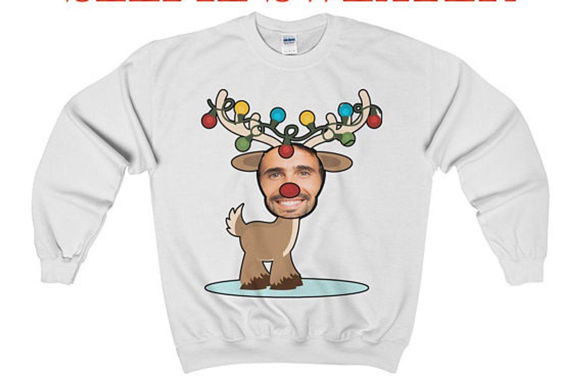 Ugly Christmas Sweater - Selfie Gift