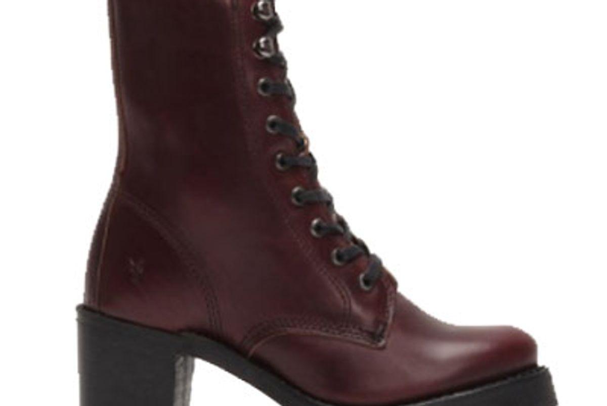 Sabrina Moto Lace Up Boot