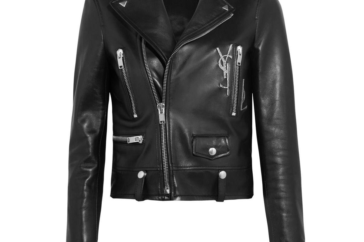 Perfecto Embellished Leather Biker Jacket