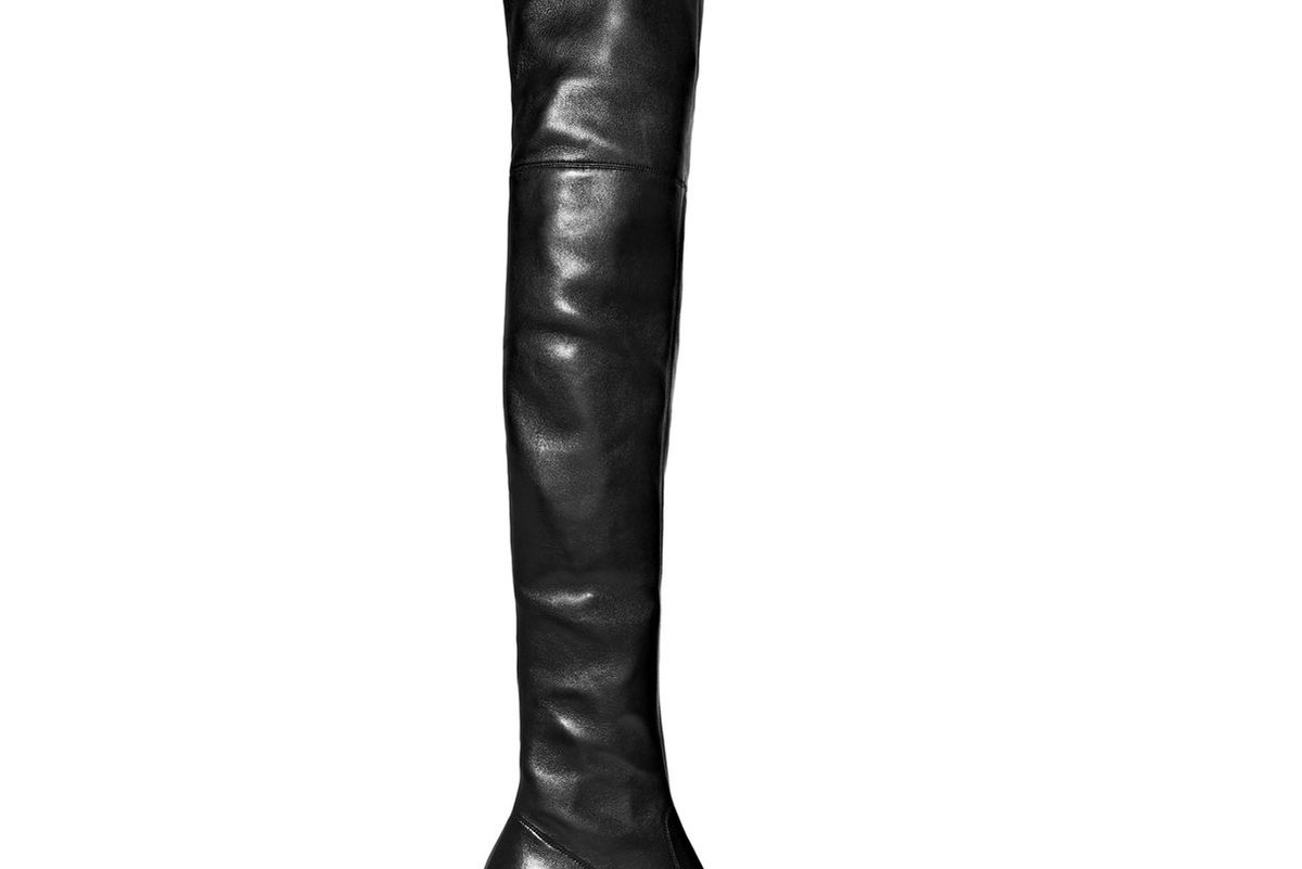 Loulou Leather Over-the-Knee Boots