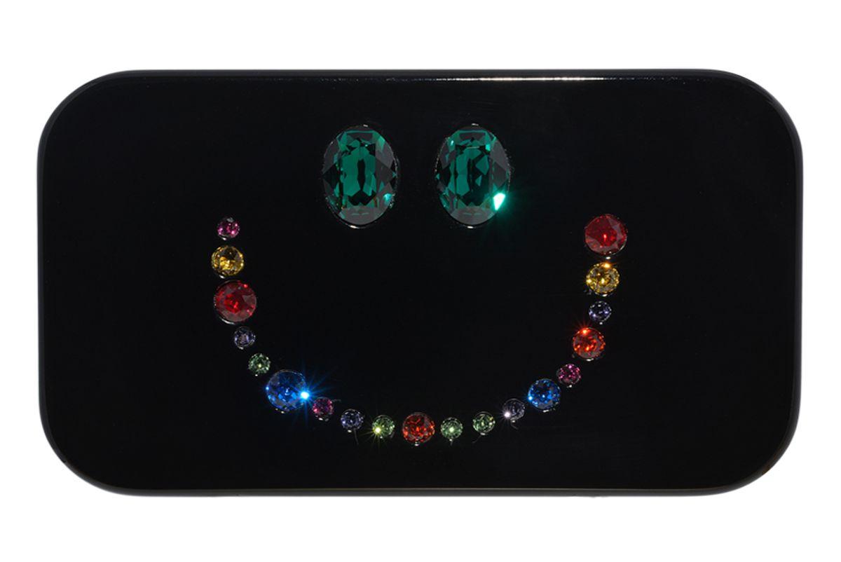 Smile Rainbow Clutch