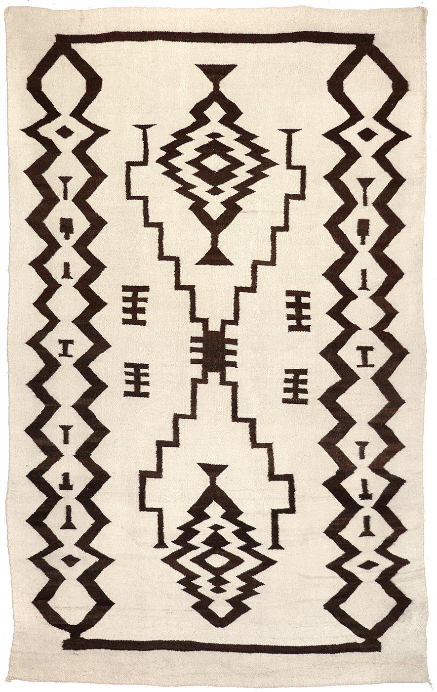shiprock santa fe navajo natural transitional with storm pattern motif
