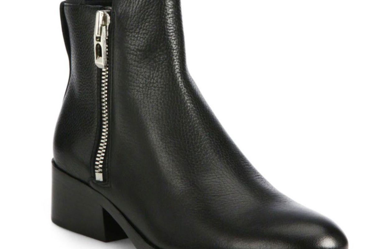 Alexa Leather Booties