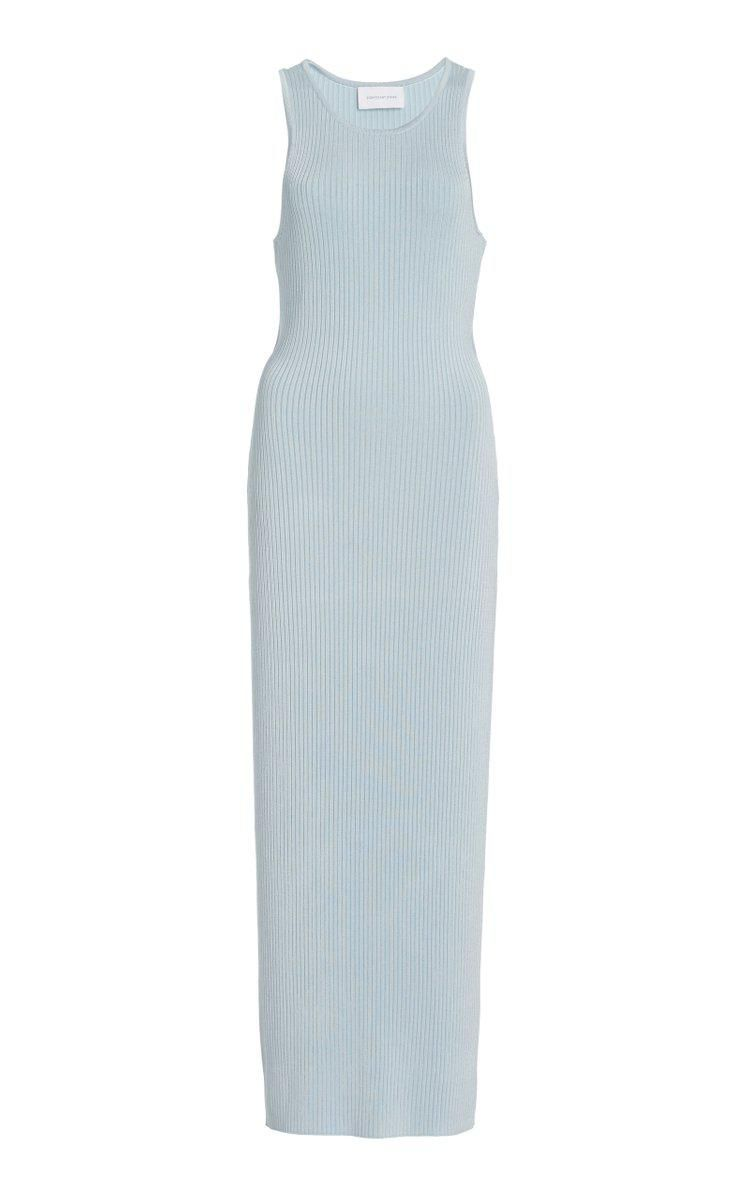 significant other sofia cutout ribbed knit midi dress