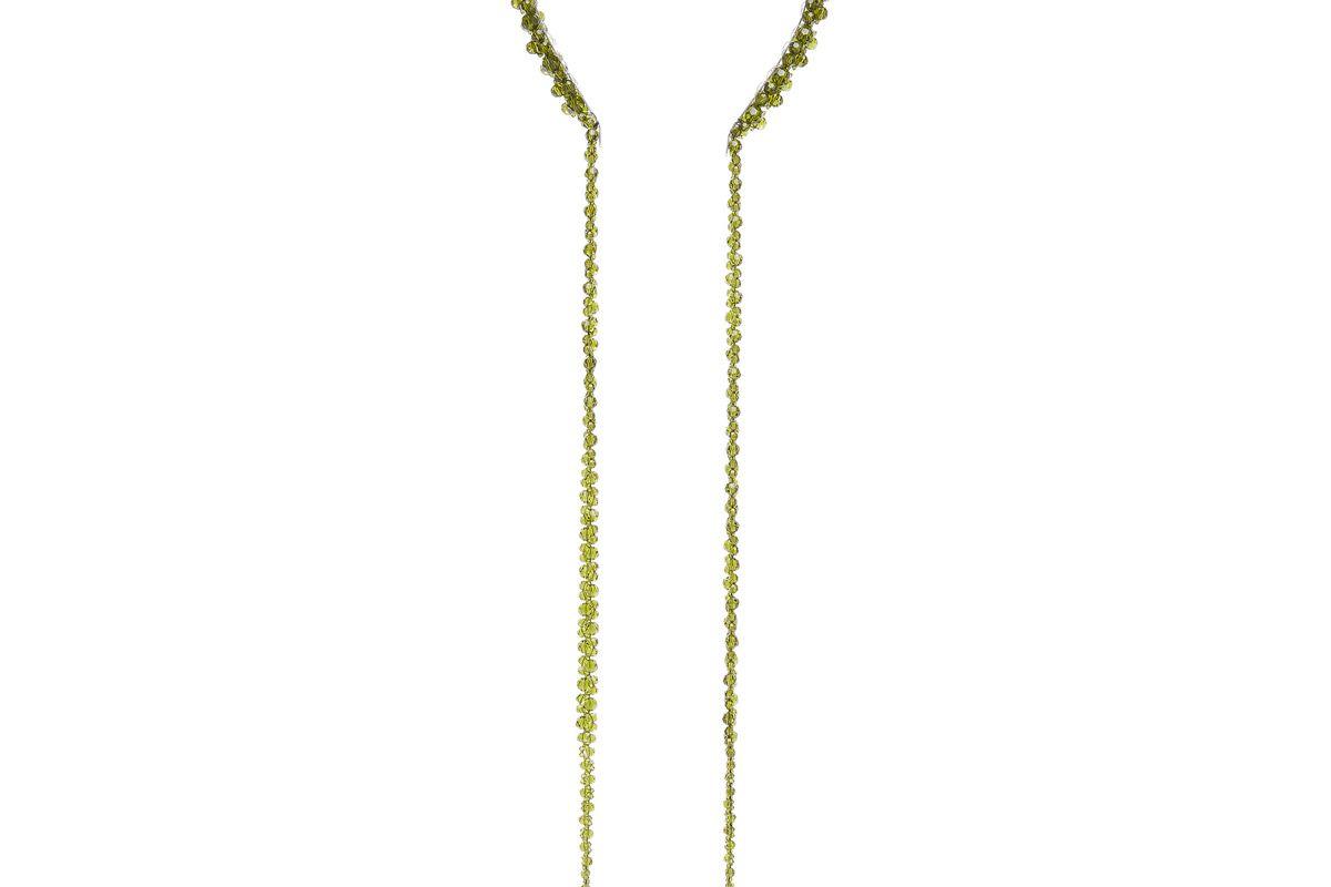 simone rocha glass crystal embellished drip headband