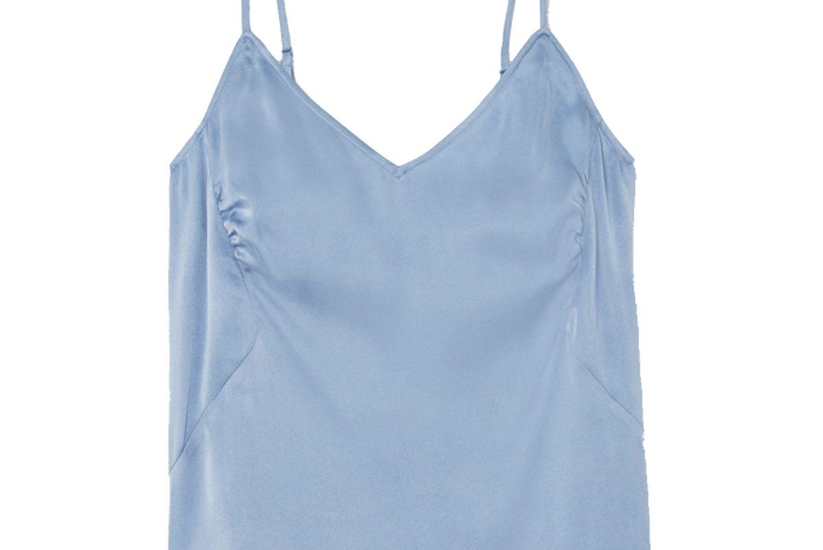 skin tabatha stretch silk satin camisole