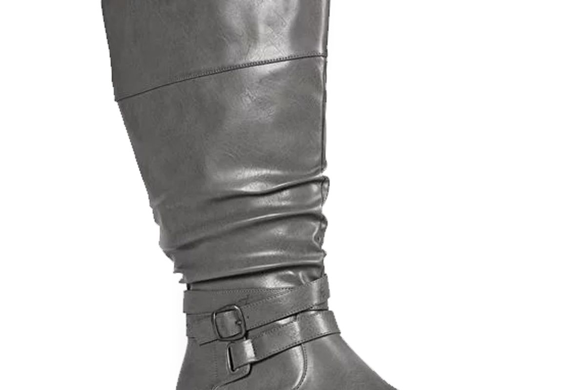 Celeste Tall Ruched Boot