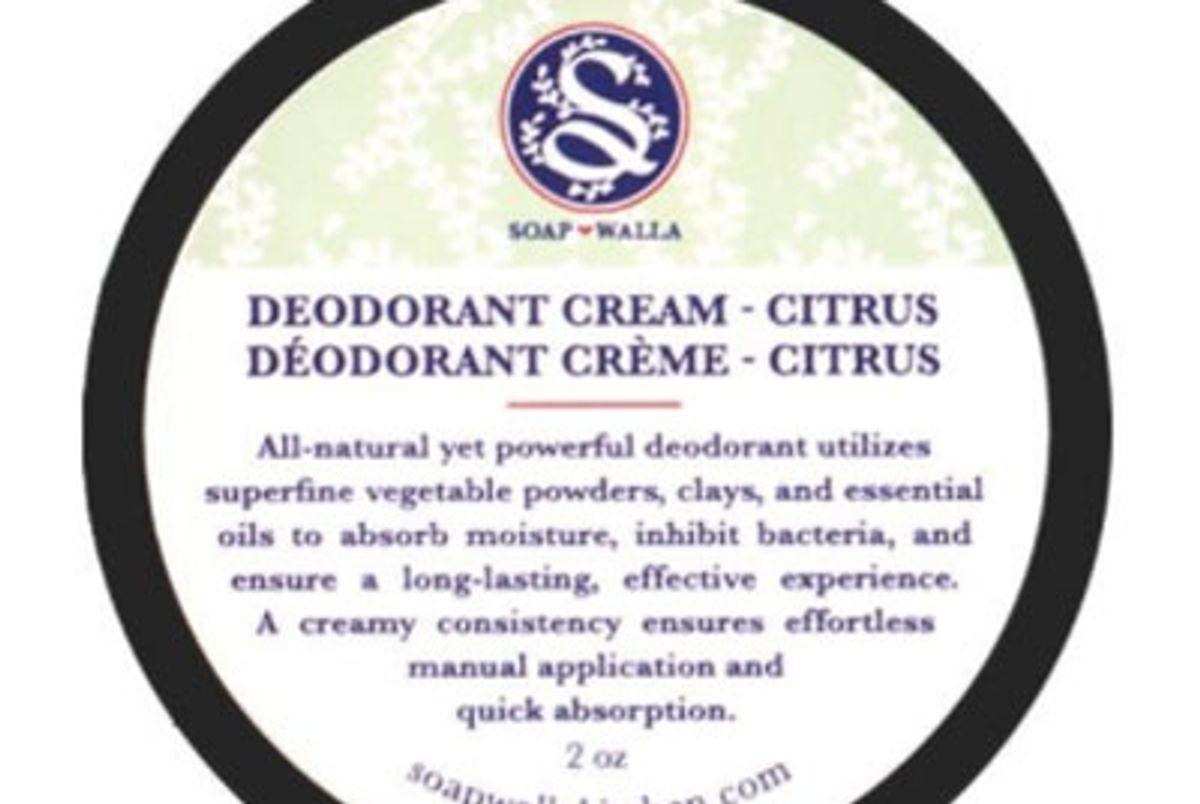 soapwalla citrus deodorant cream