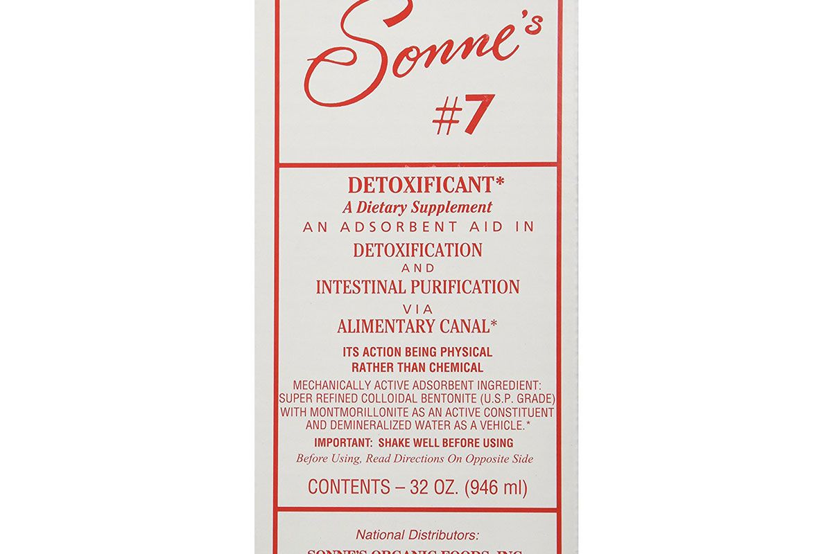 sonnes detoxification no7