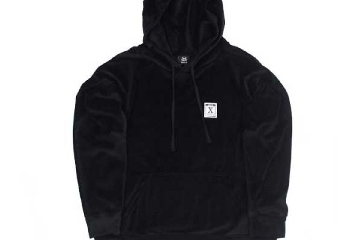 ssur x brazzers adult materials velour hoody