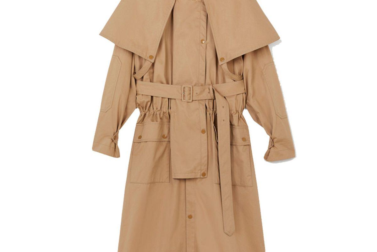 stella mccartney stacy trench coat