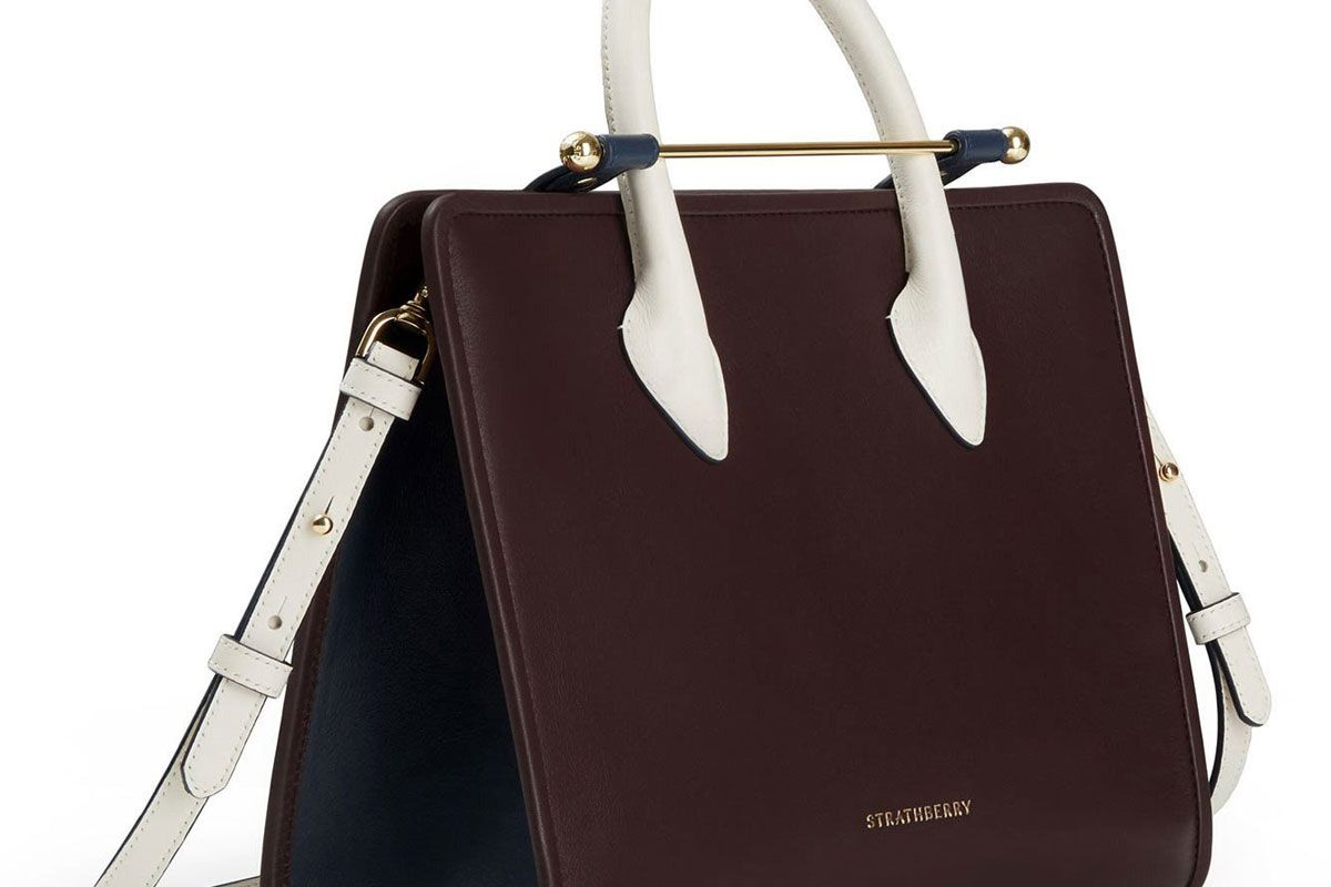 strathberry the midi tote bag