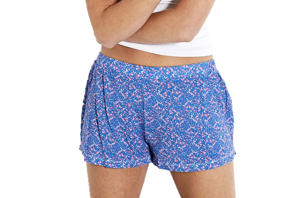 stripe and stare bedshorts