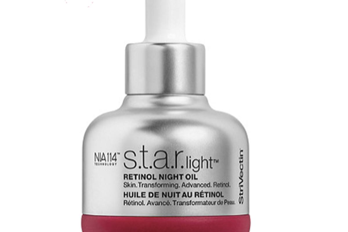 strivectin star light retinol night oil