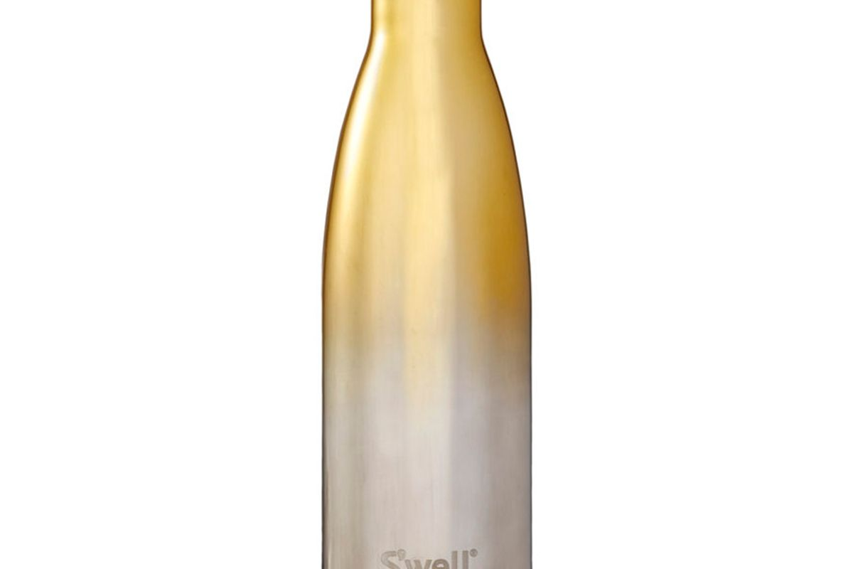 swell yellow gold ombre bottle