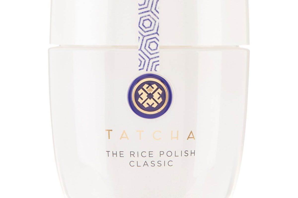 tatcha the rice polish foaming enzyme powder