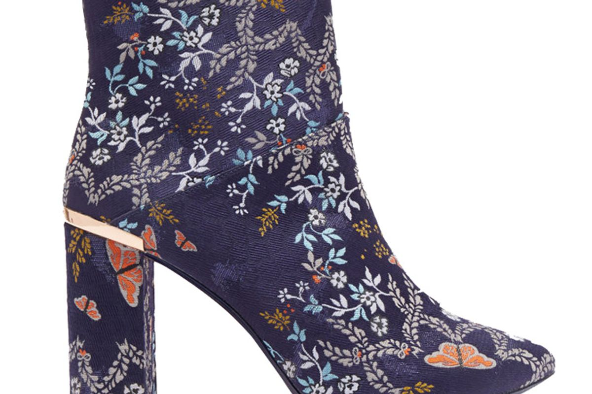 Ishbel Kyoto Gardens heeled ankle boots