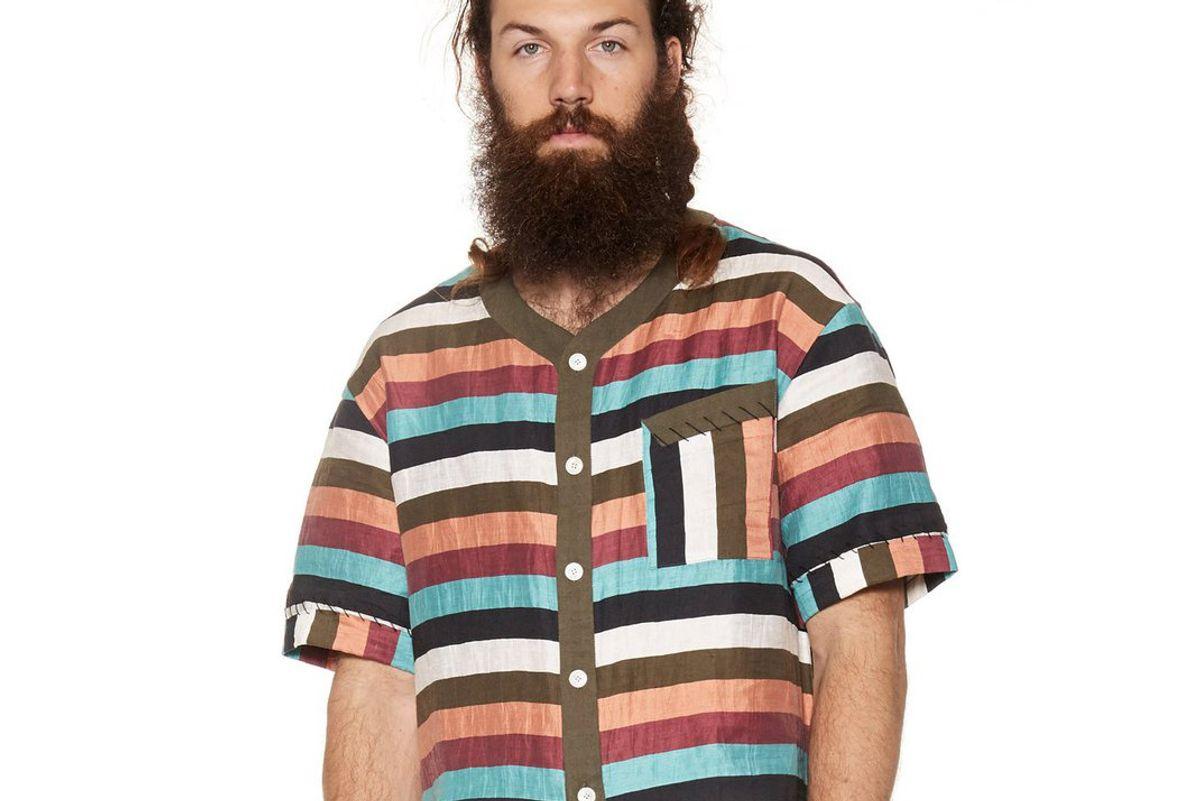 Stripe Beach Shirt