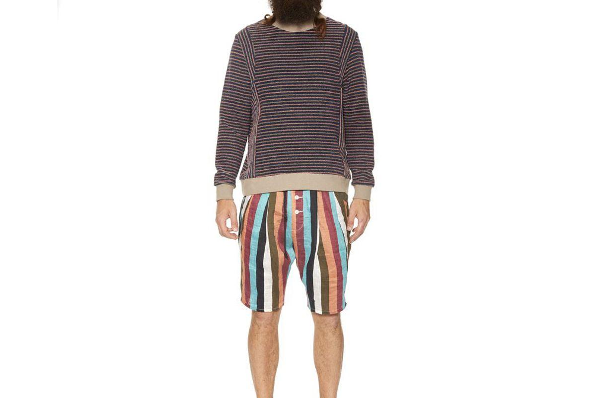 Stripe Beach Shorts