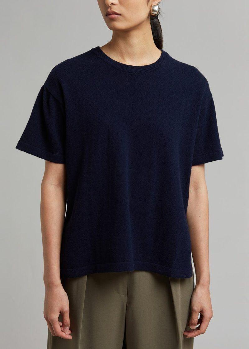 the frankie shop raisa knit top