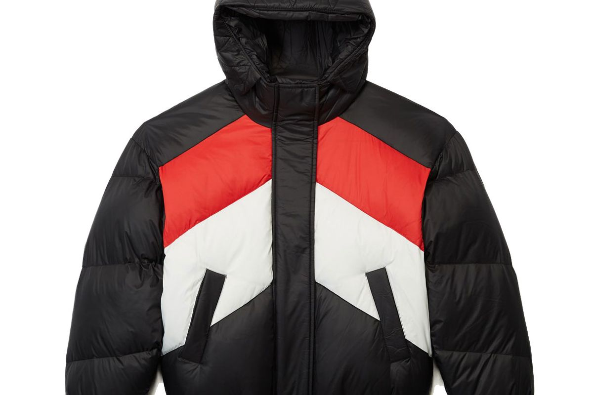 the kooples three colour down jacket