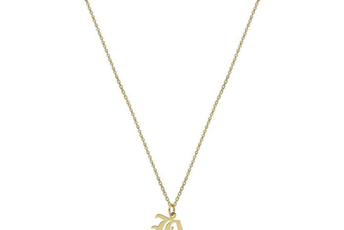 the m jewelers the double old english pendant