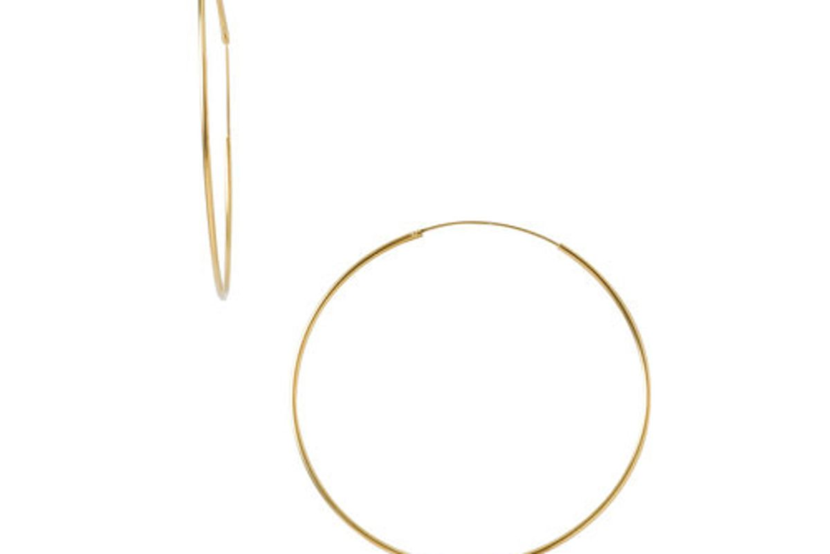 Extra Large Thin Hoops