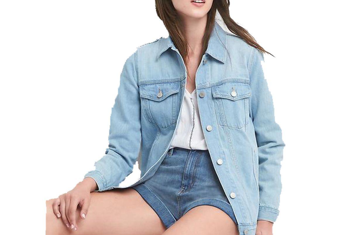 Oversize Denim Icon Jacket